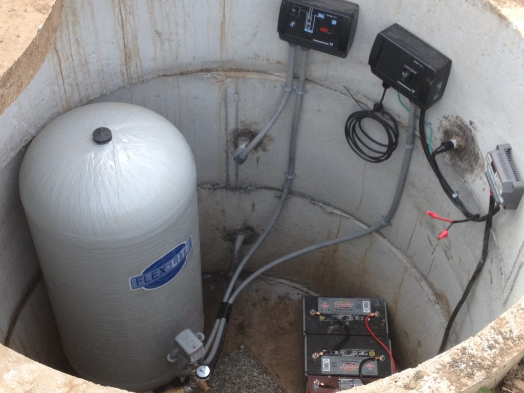 solarwell50 1024x768 we have water! redoubt solar powered well project update grundfos cu 200 wiring diagram at bakdesigns.co